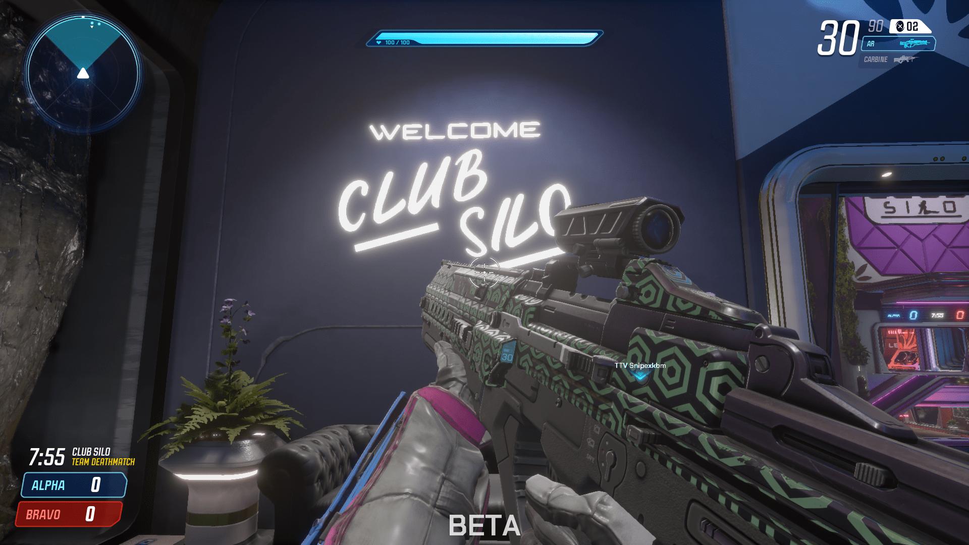 Splitgate Map Club Silo