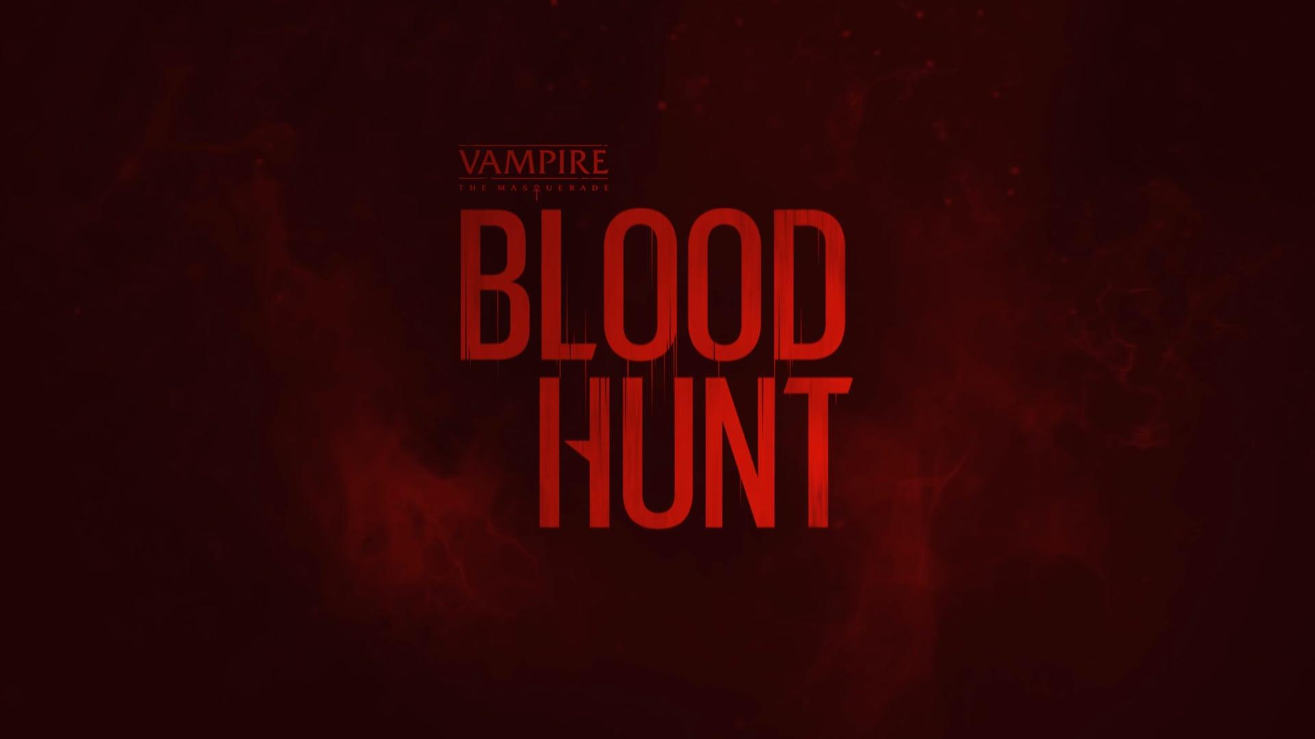 Vampire The Masquerade Bloodhunt Cover