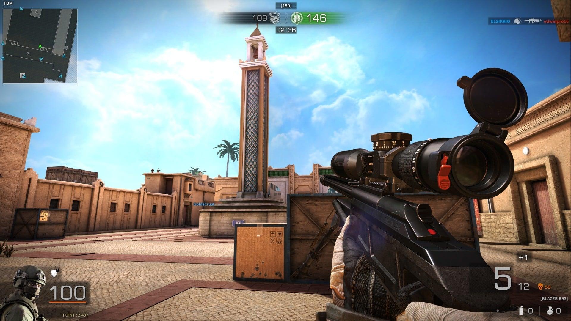 Black Squad Sniper