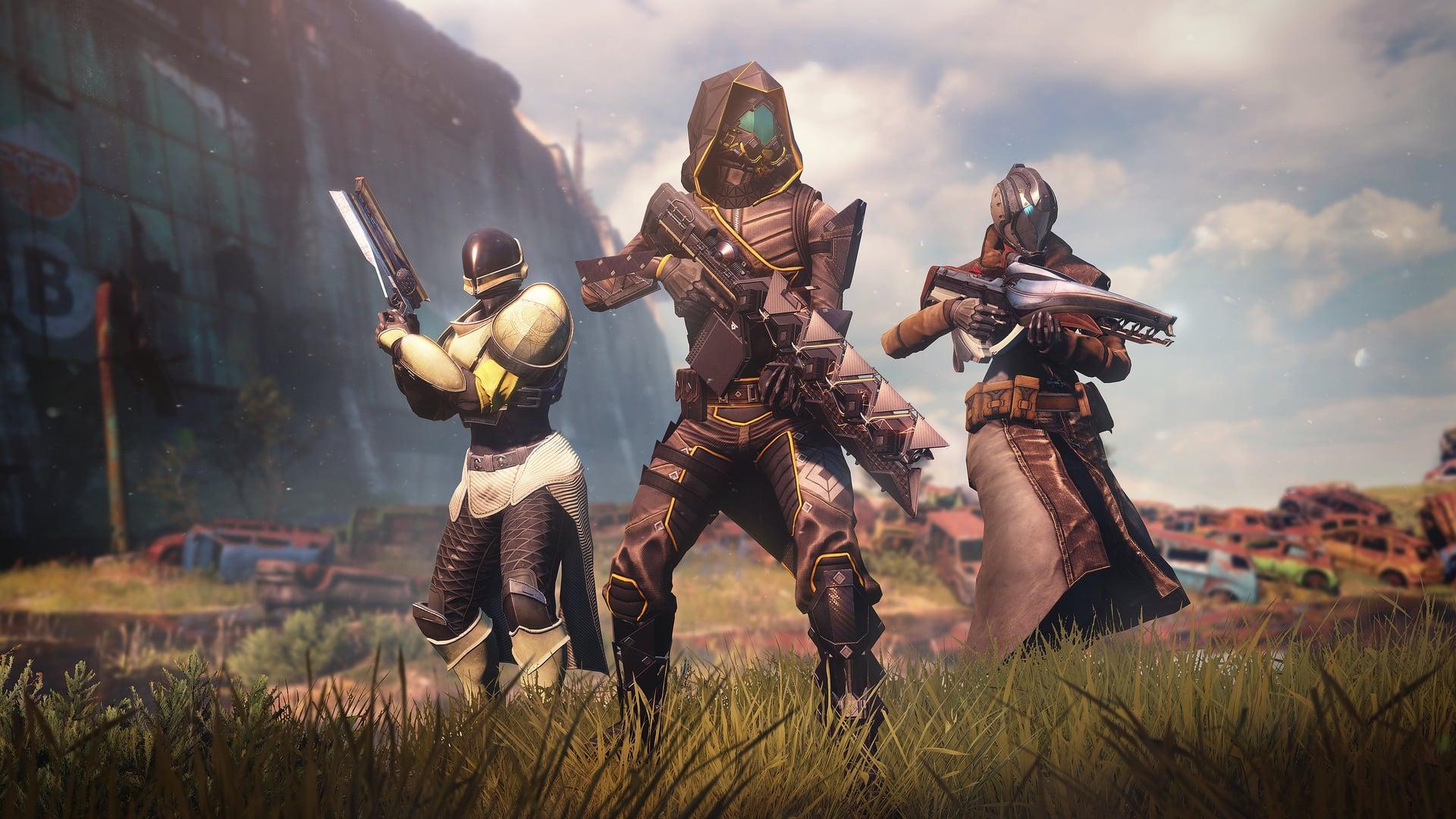 Destiny 2 New Light Guardians