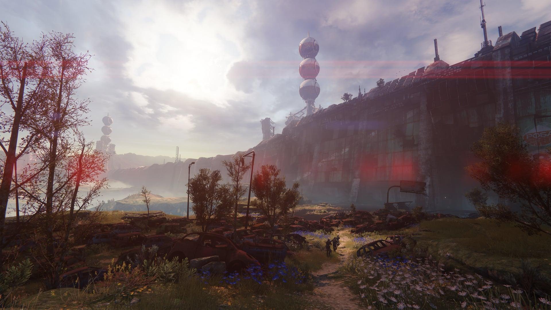 Destiny 2 New Light Scenery