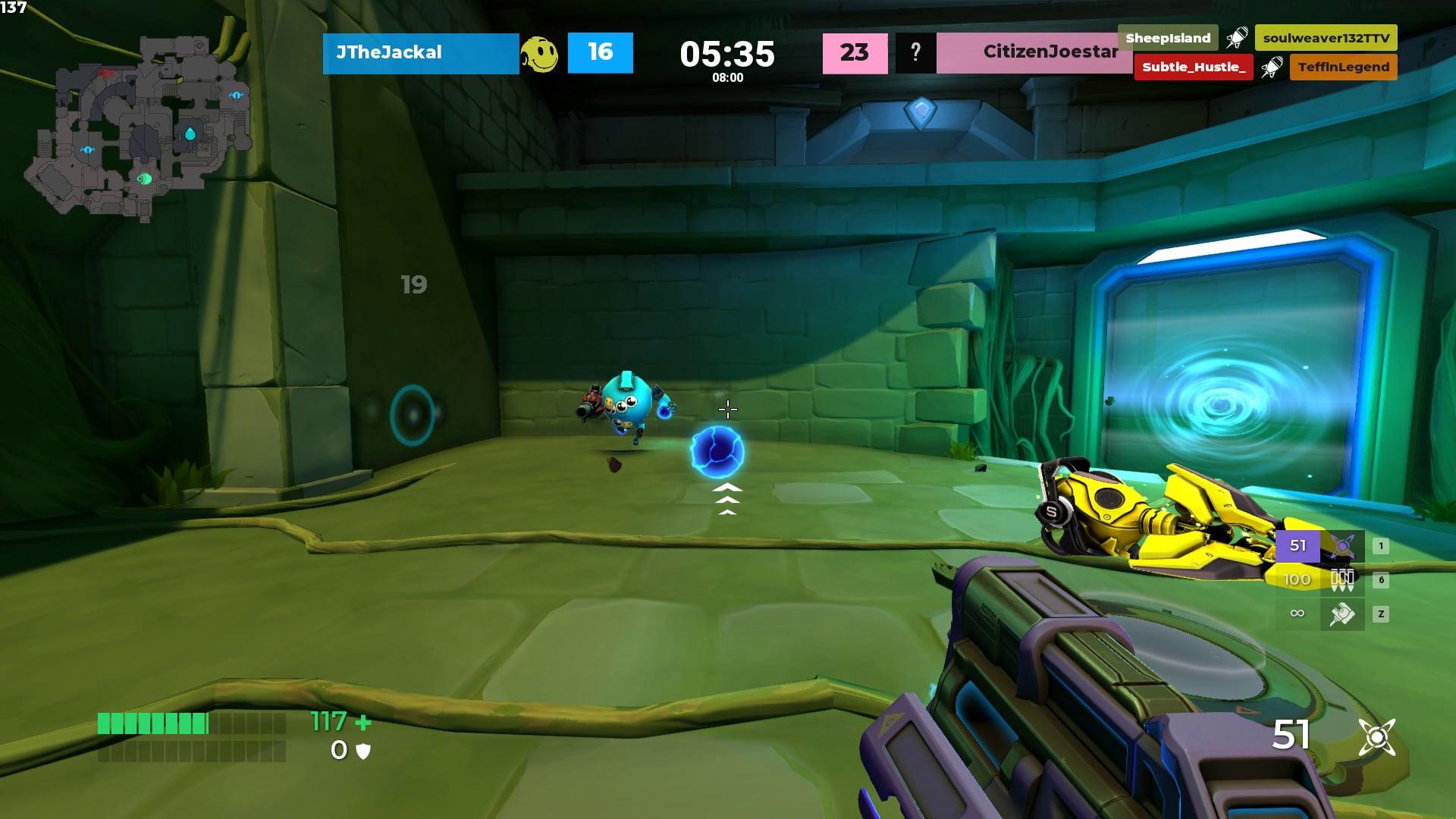 Diabotical Gameplay Plasma