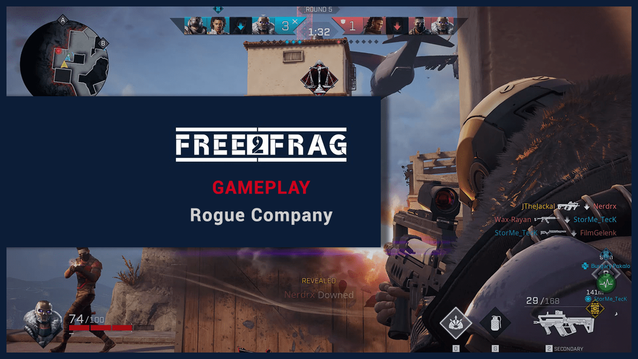 Rogue Company Free2Frag Gameplay Video