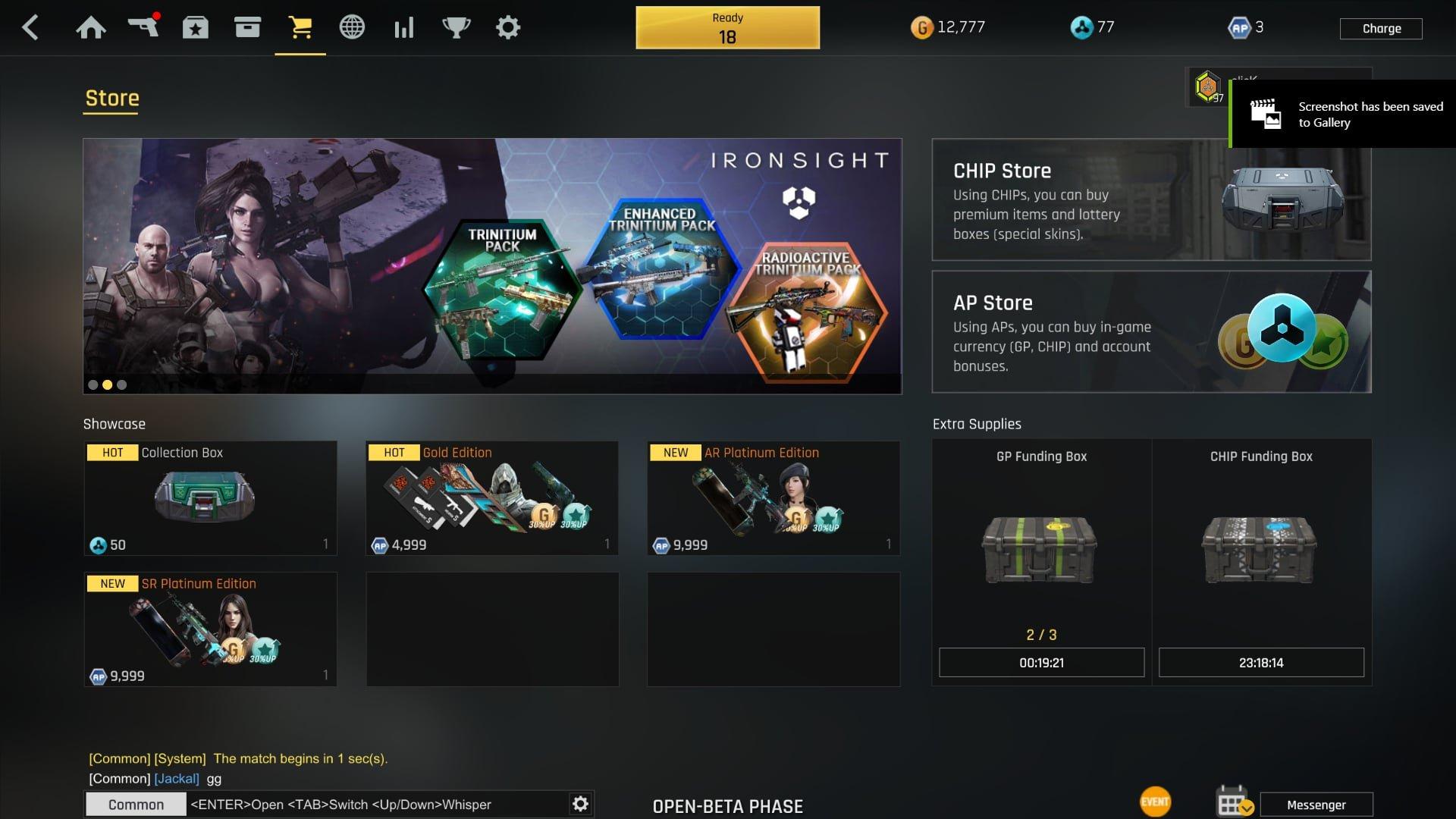 Ironsight Shop