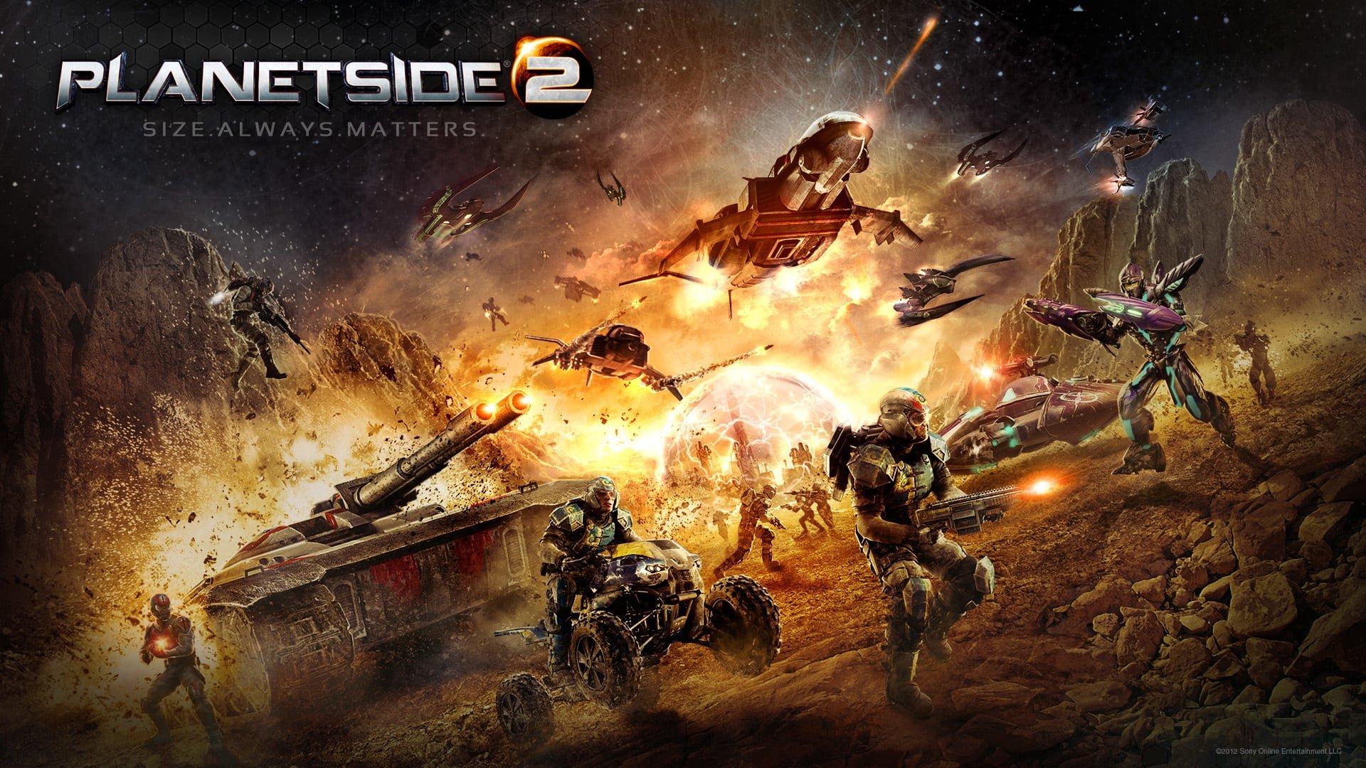Planetside 2 Cover