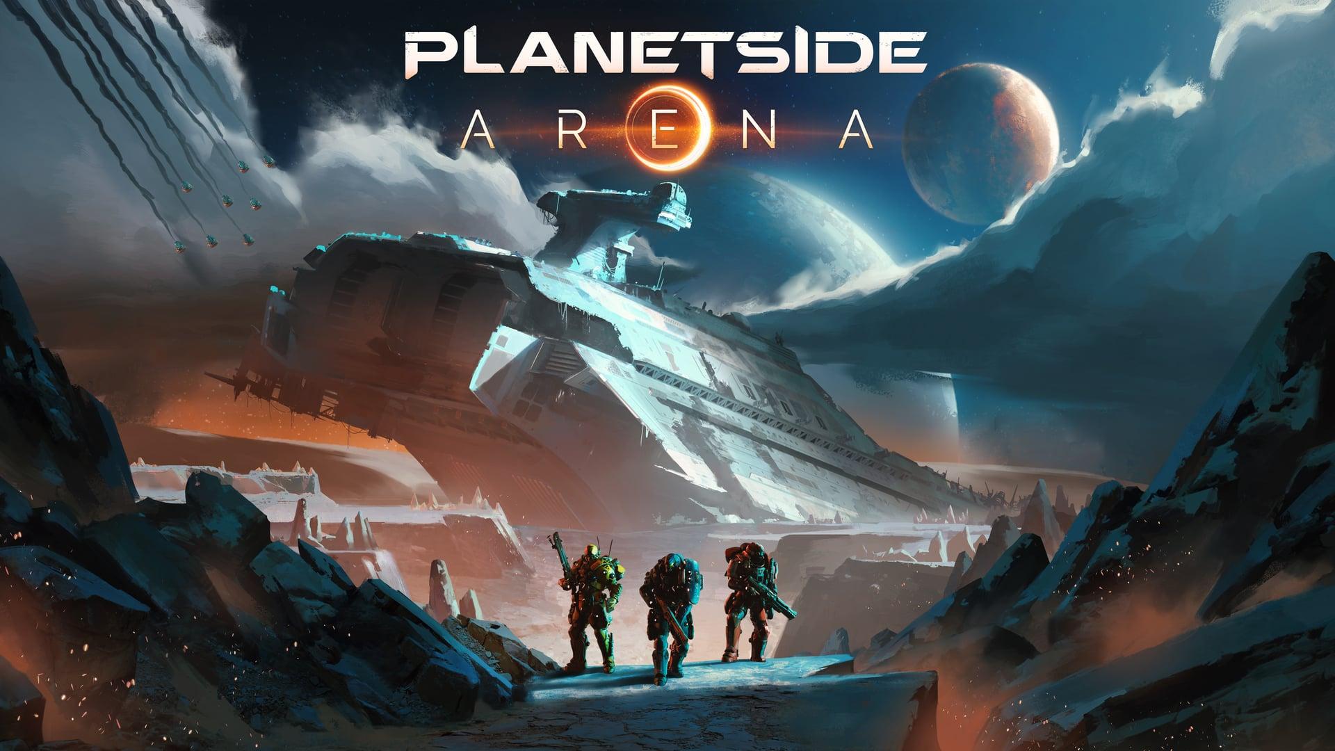 Planetside Arena Cover