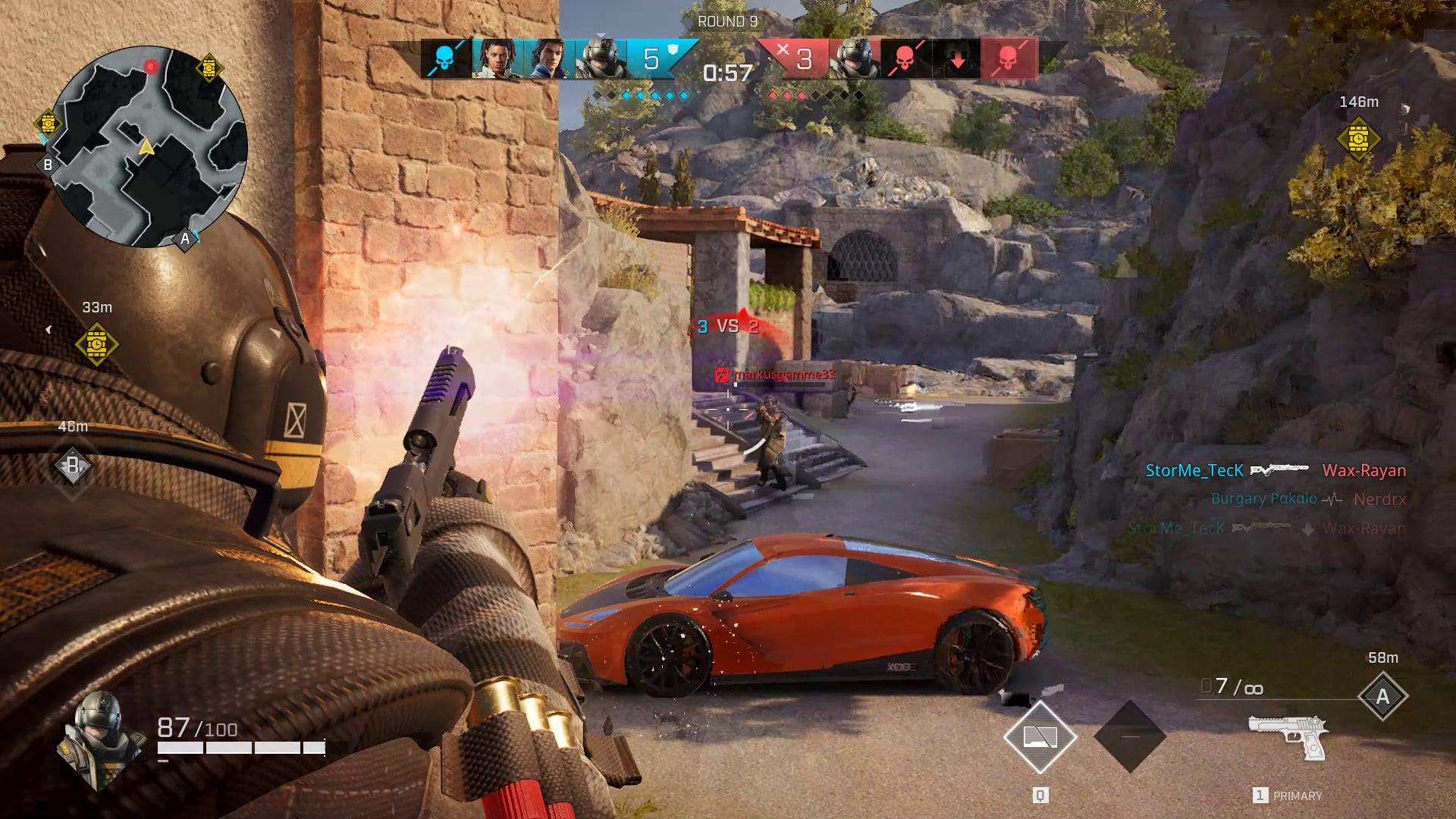 Rogue Company Gameplay Anvil Car Beta