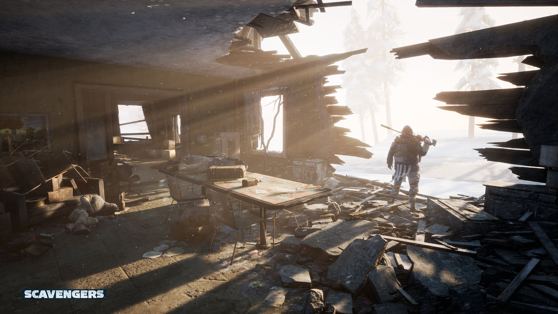 Scavengers Gameplay Screenshot Sniper