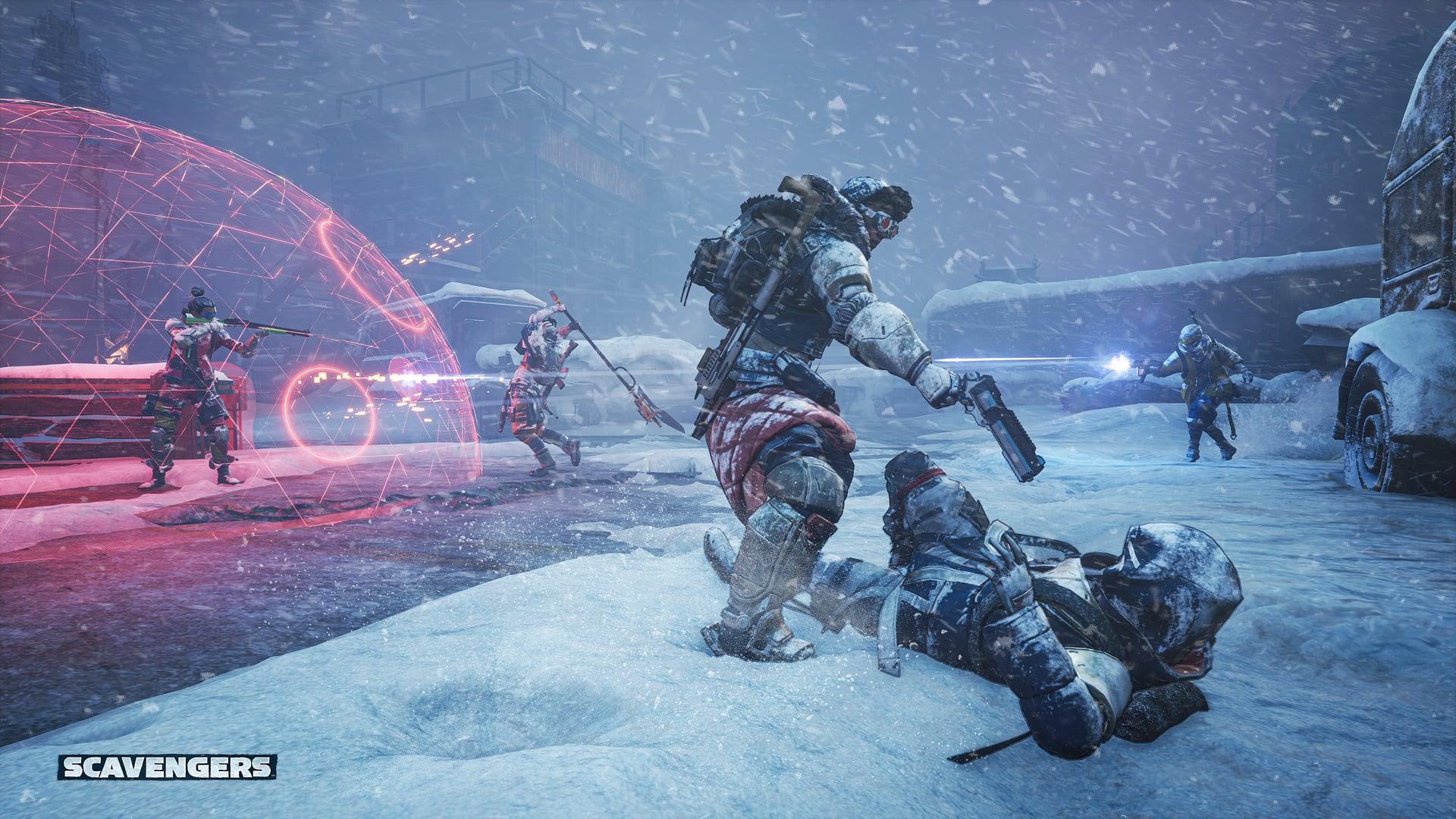 Scavengers Gameplay Screenshot Storm