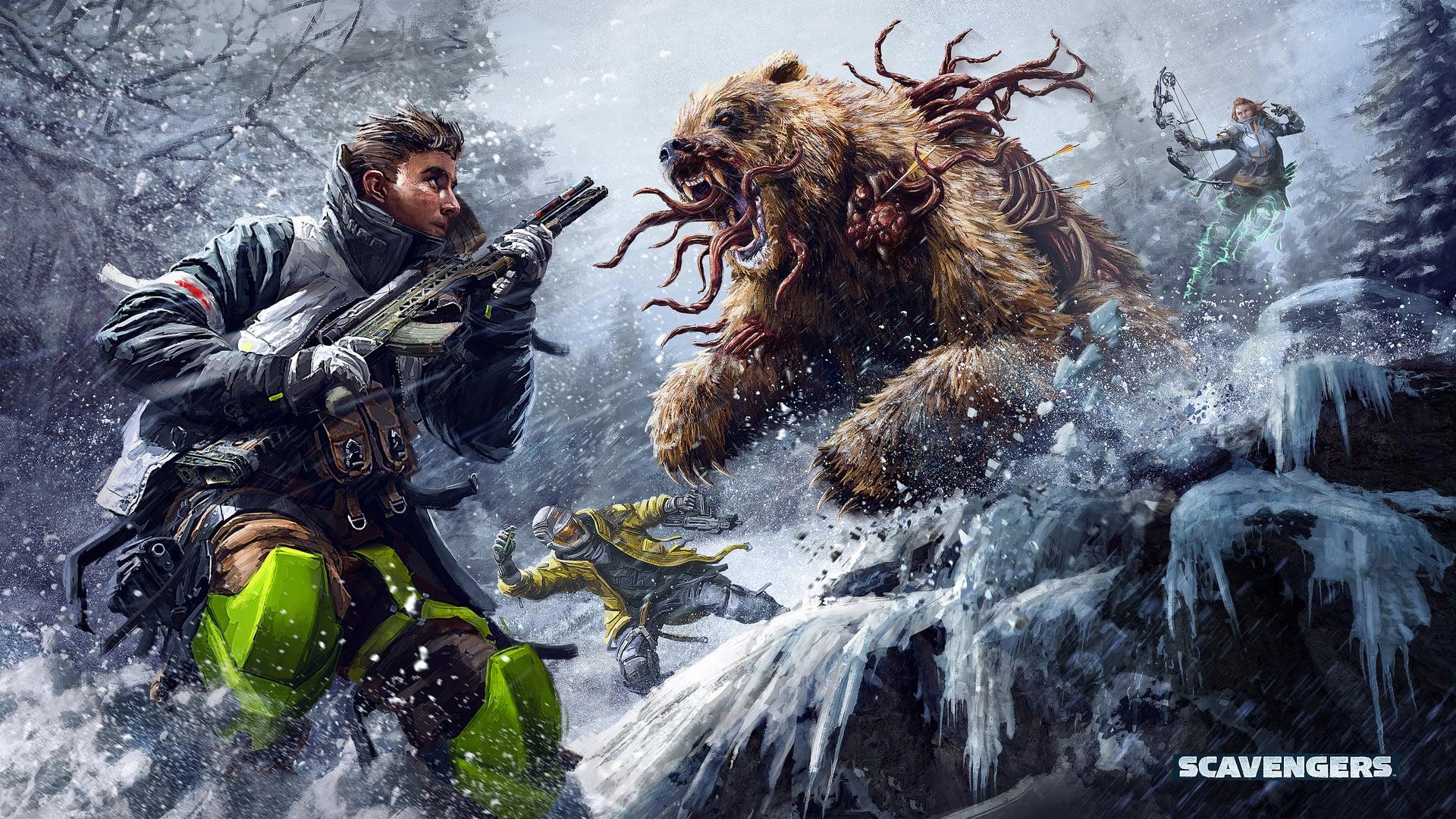 Scavengers Wallpaper Background Mutant Bear